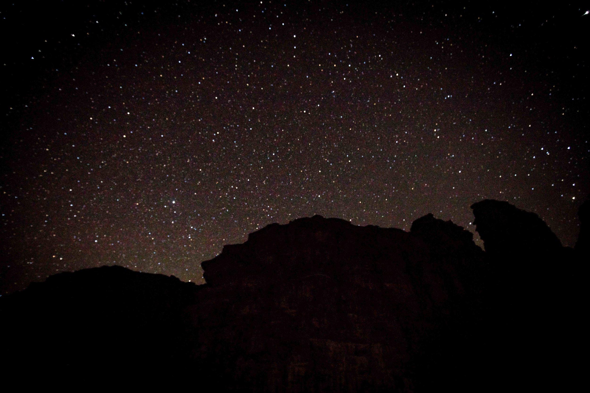Star Gazing in Wadi Rum