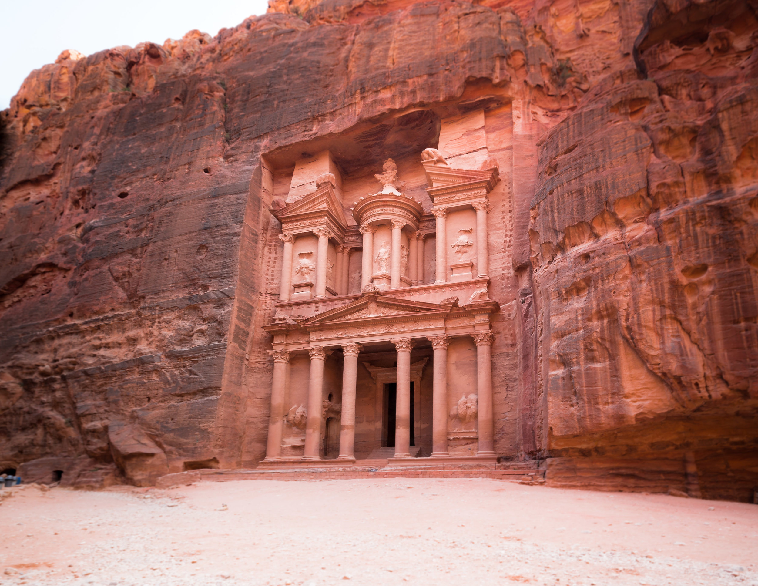 Little Petra to Petra Walk: The Treasury
