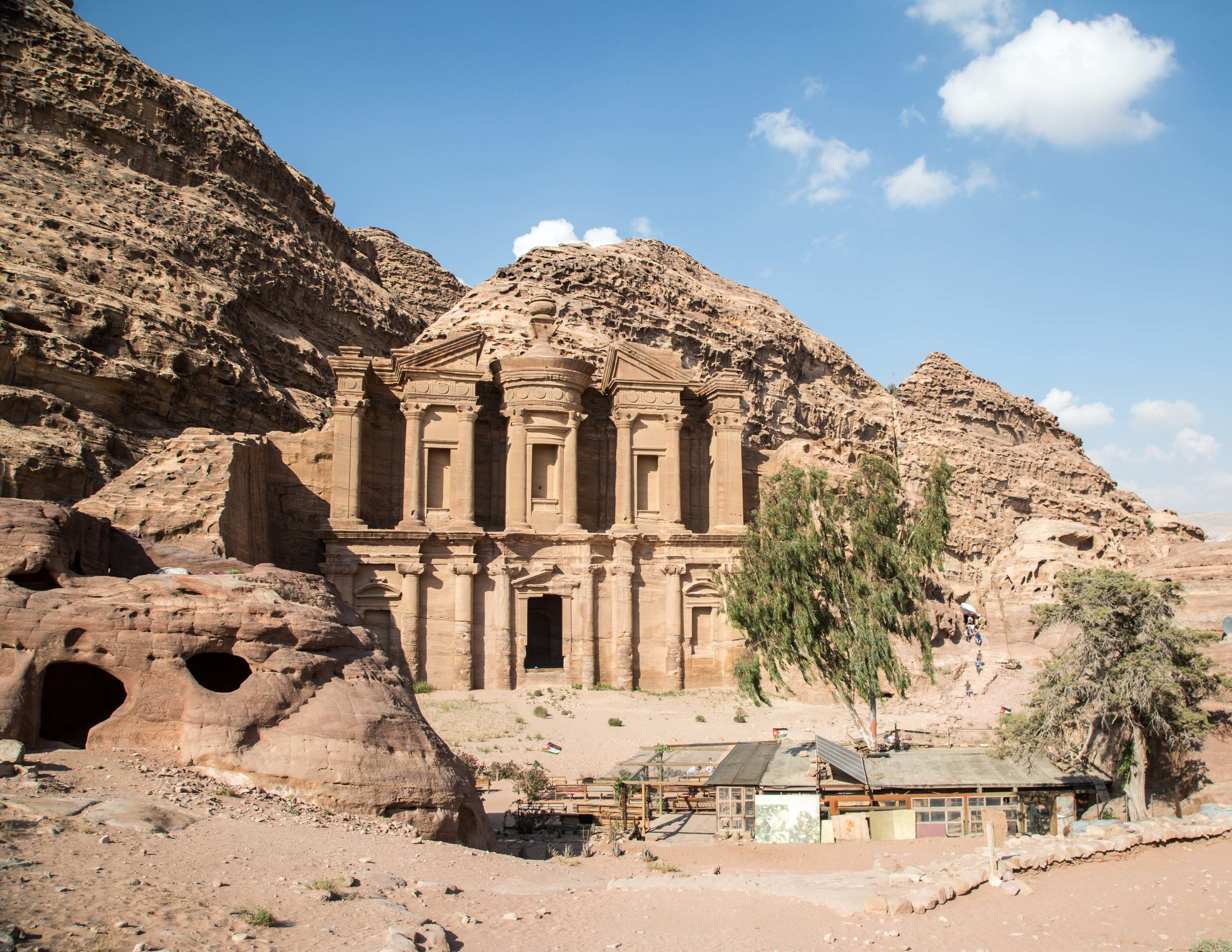Little Petra to Petra Walk: The Monastery