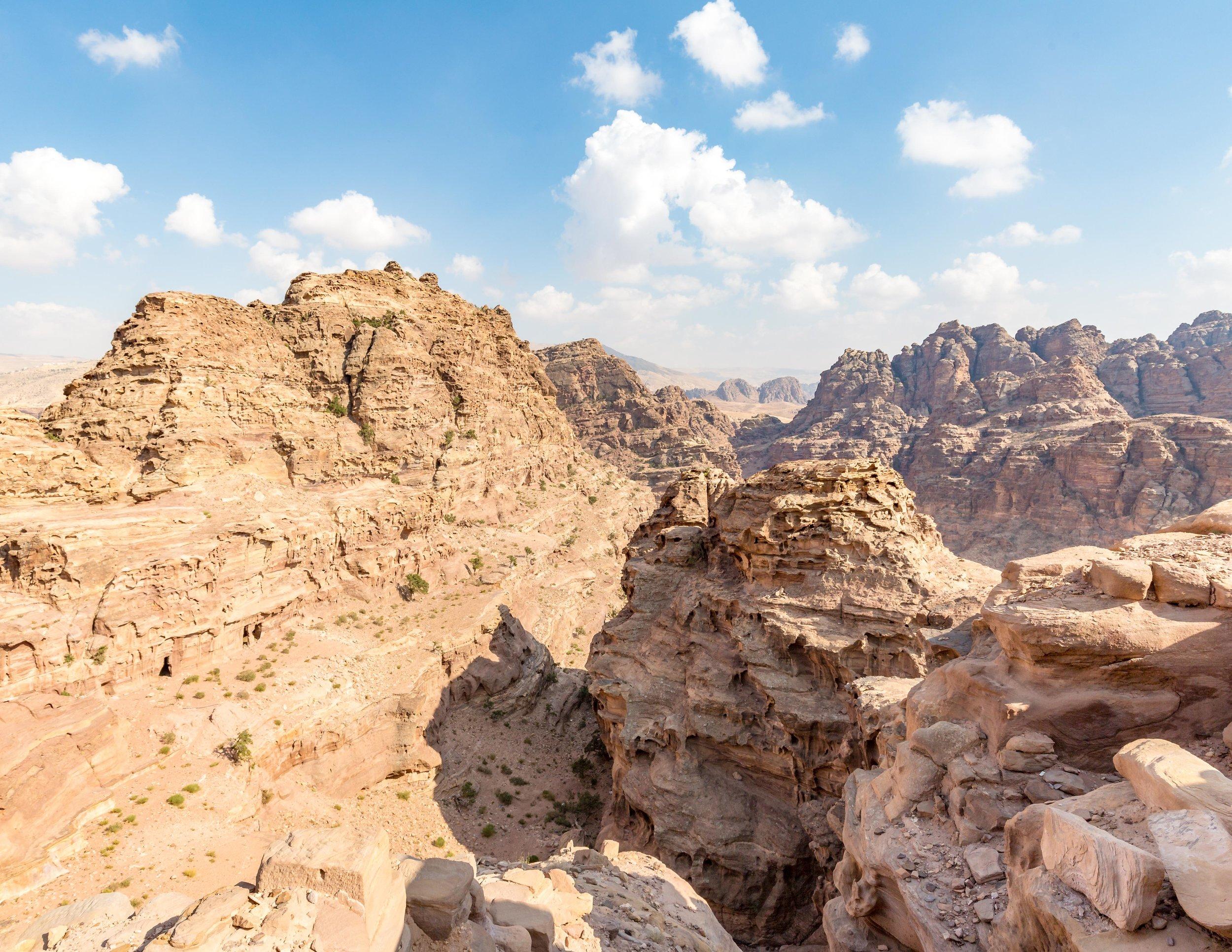 Little Petra to Petra Walk: Canyon Views