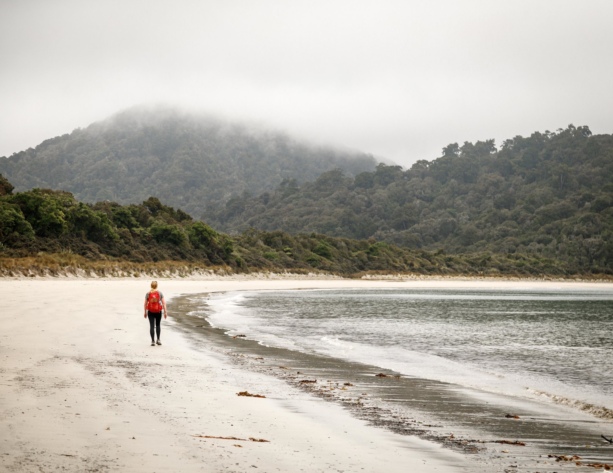The Great Walks of New Zealand with the best beaches: Rakiura