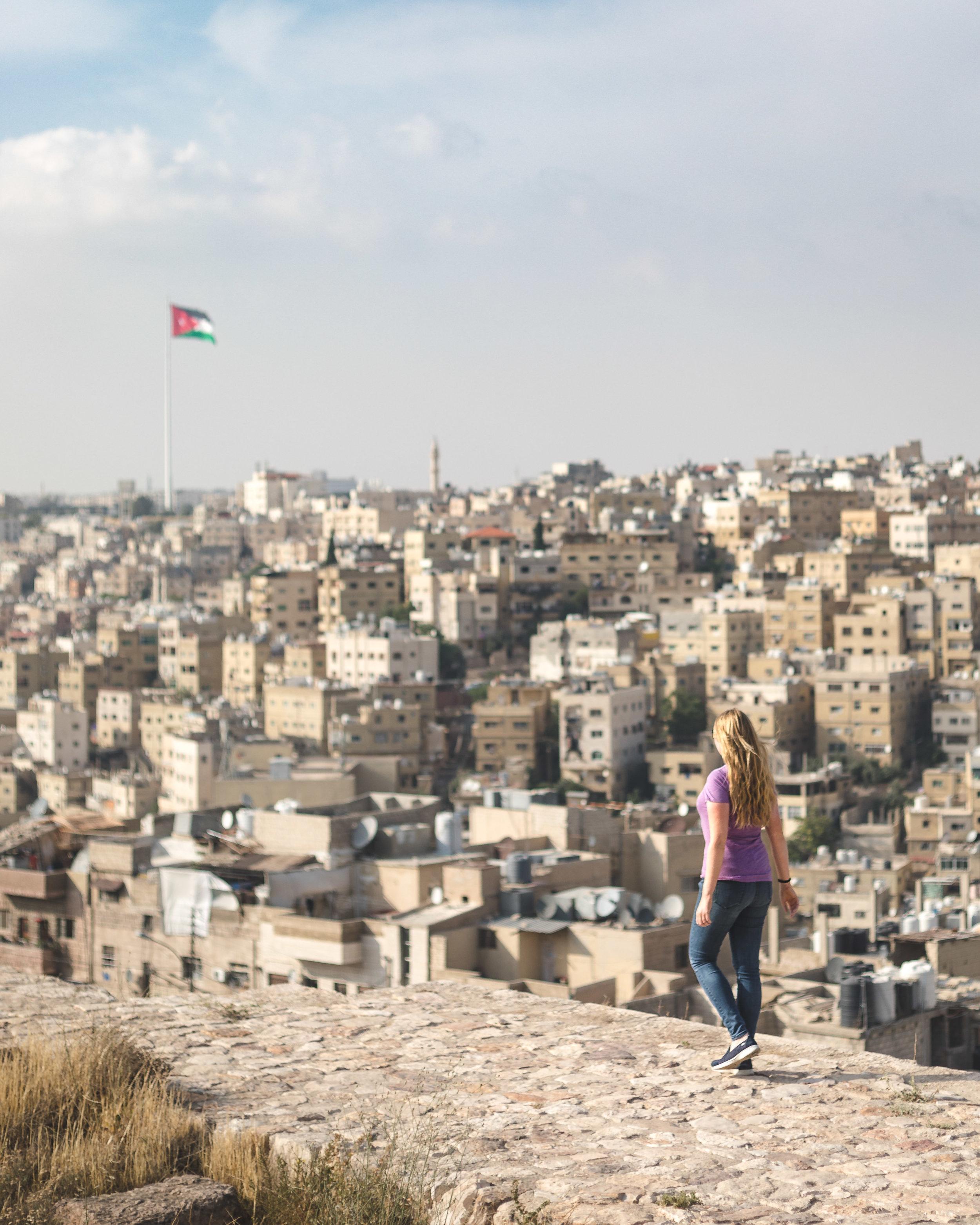 Views from the Citadel Amman