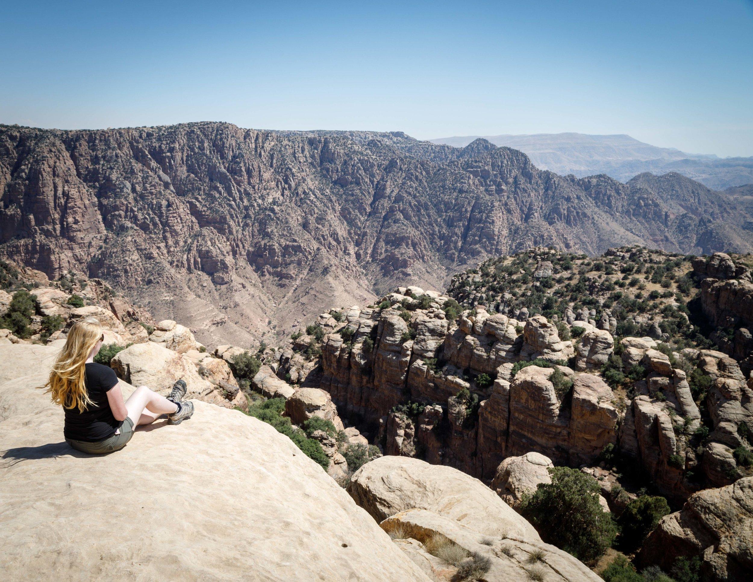 Places to visit in Jordan - Hiking in Dana