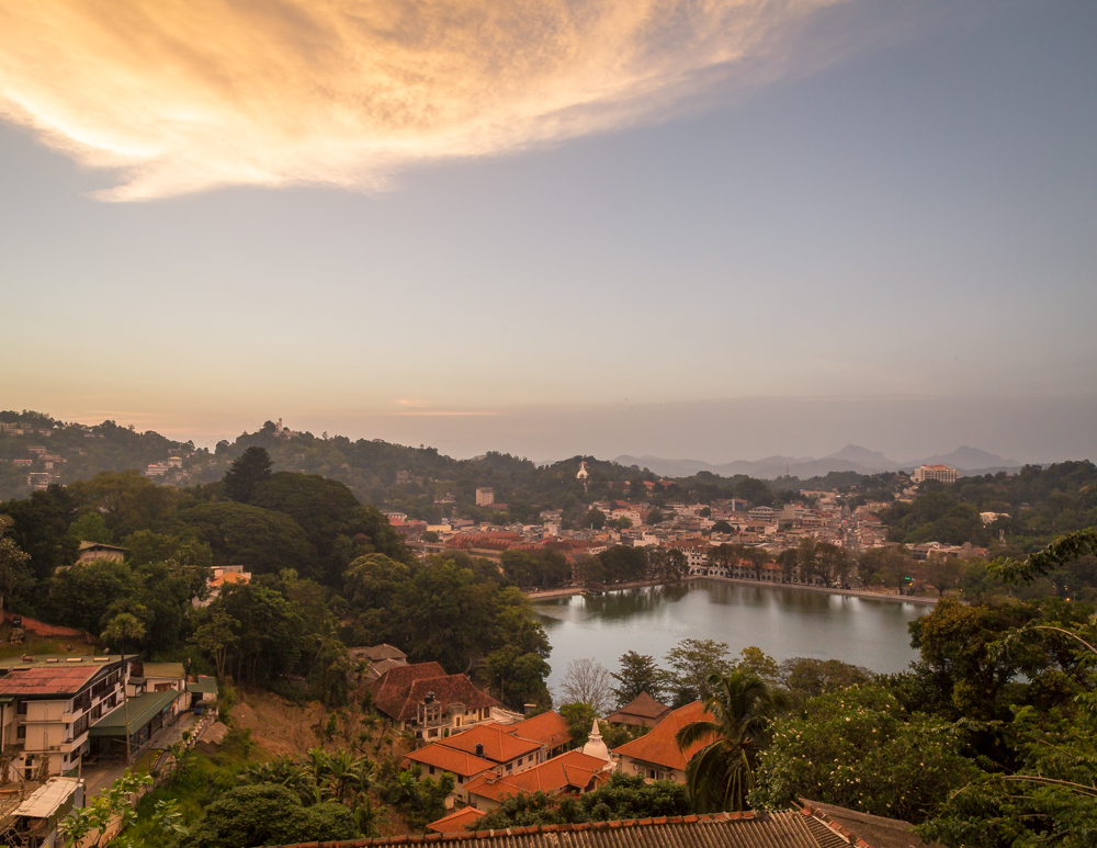 Places to visit in Kandy - The sunset viewpoint