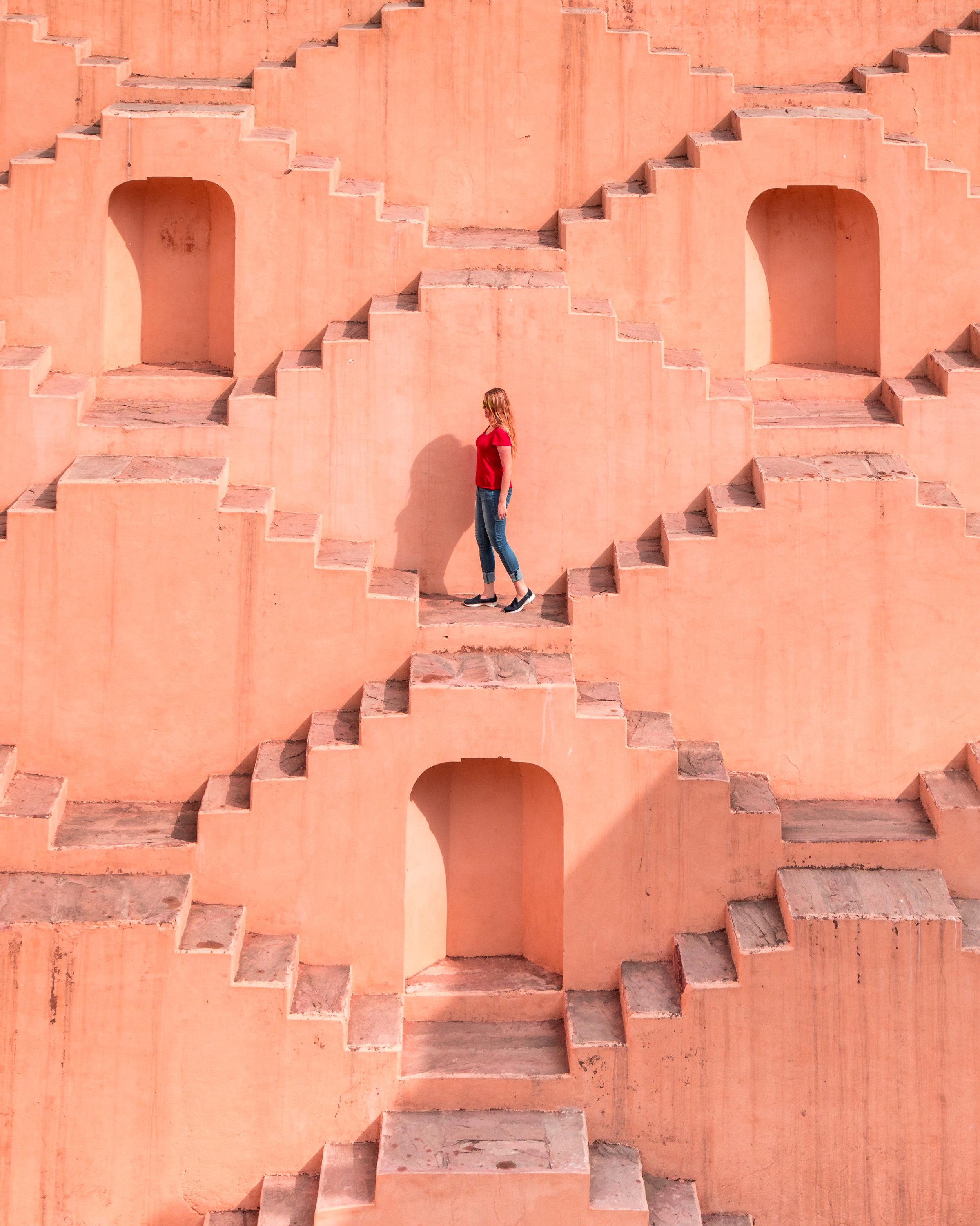 Places to visit in Jaipur - Panna Meena Ka Kund