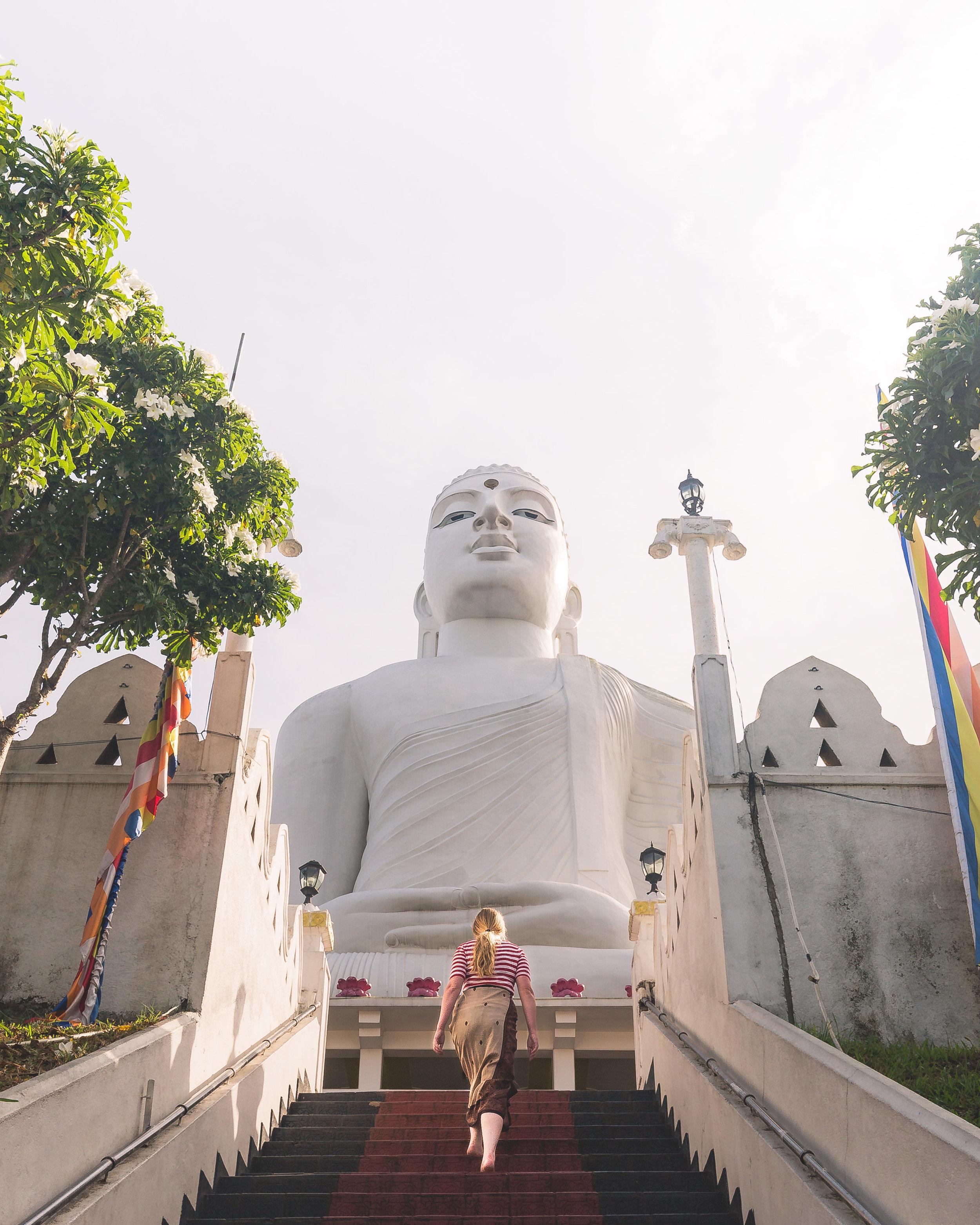 Instagrammable Sri Lanka - Big Buddha Kandy