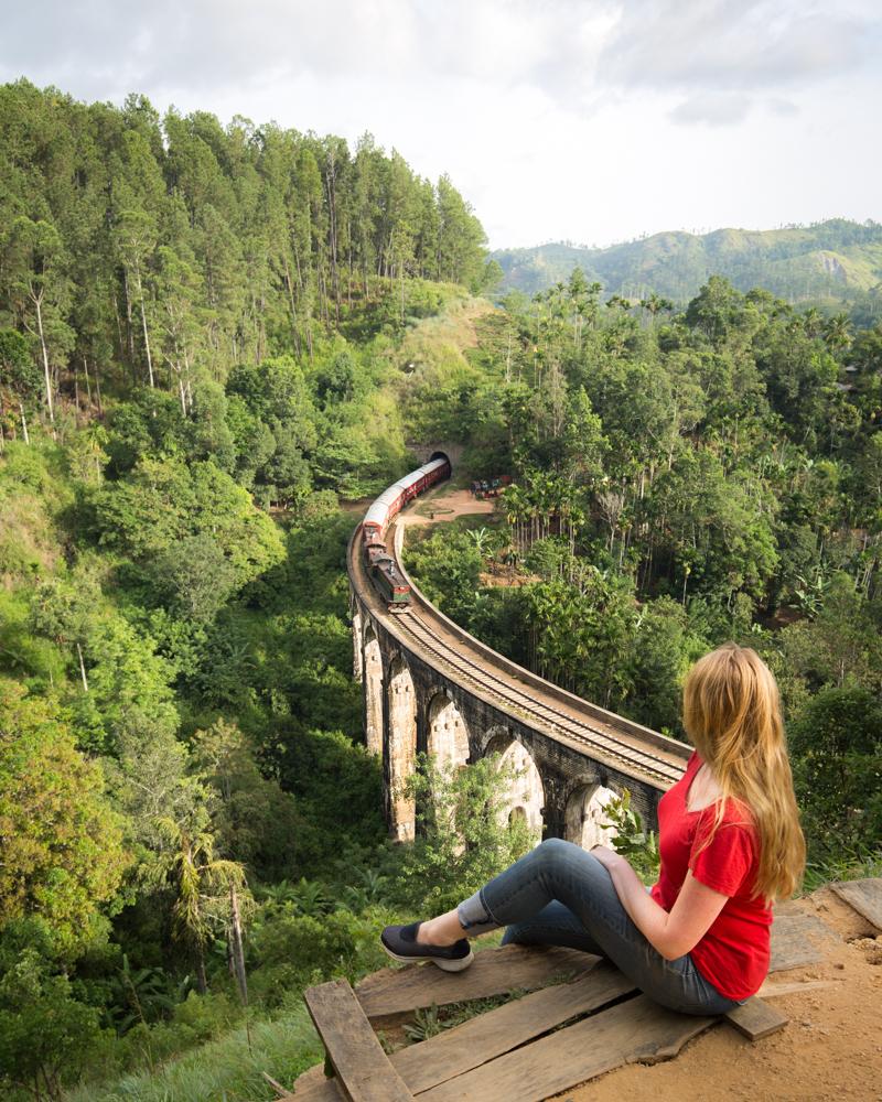 Instagrammable spots in Sri Lanka - Nine Arch Bridge