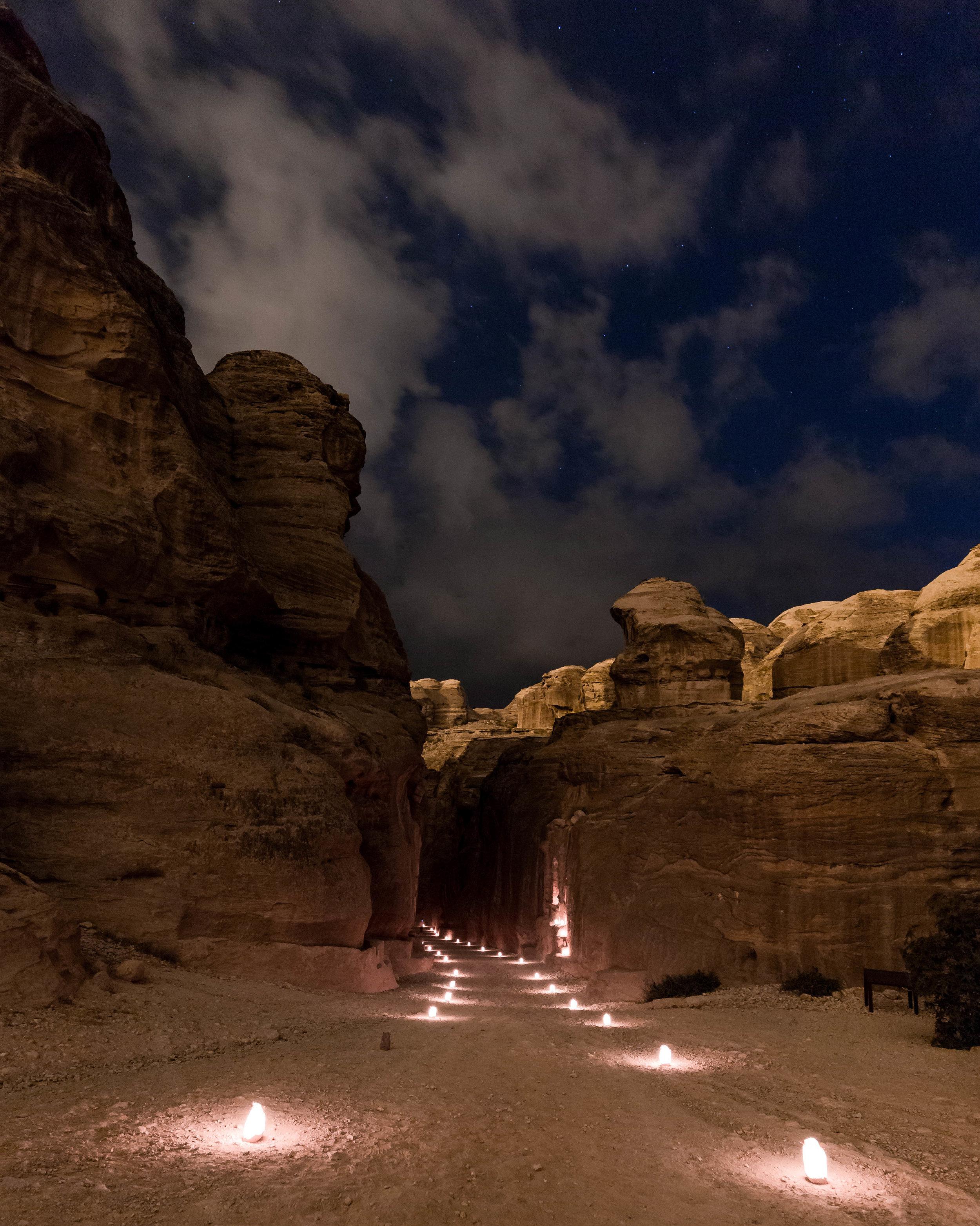 Jordan Itinerary - Petra By Night
