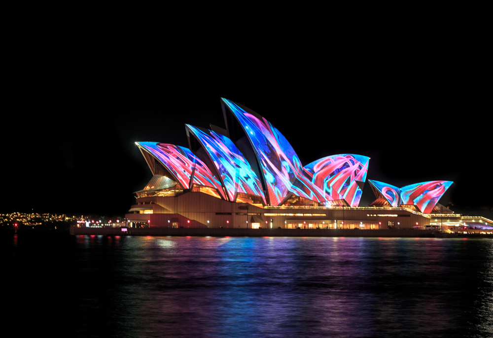 Free things to do in Sydney: Vivid