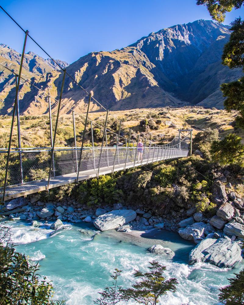 2 week New Zealand South Island Itinerary: Rob Roy Glacier Walk