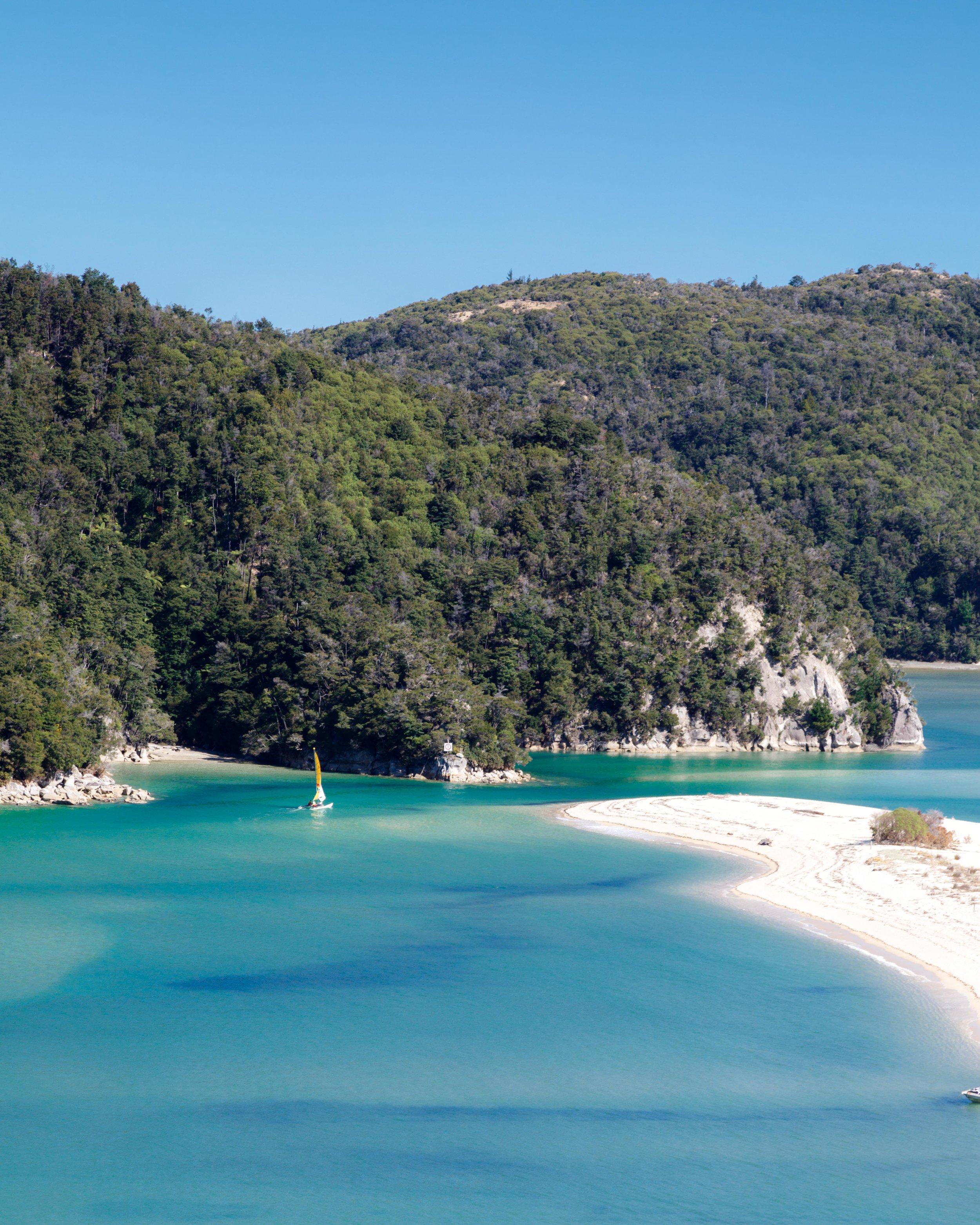 2 week New Zealand South Island Itinerary: Abel Tasman Coast Track
