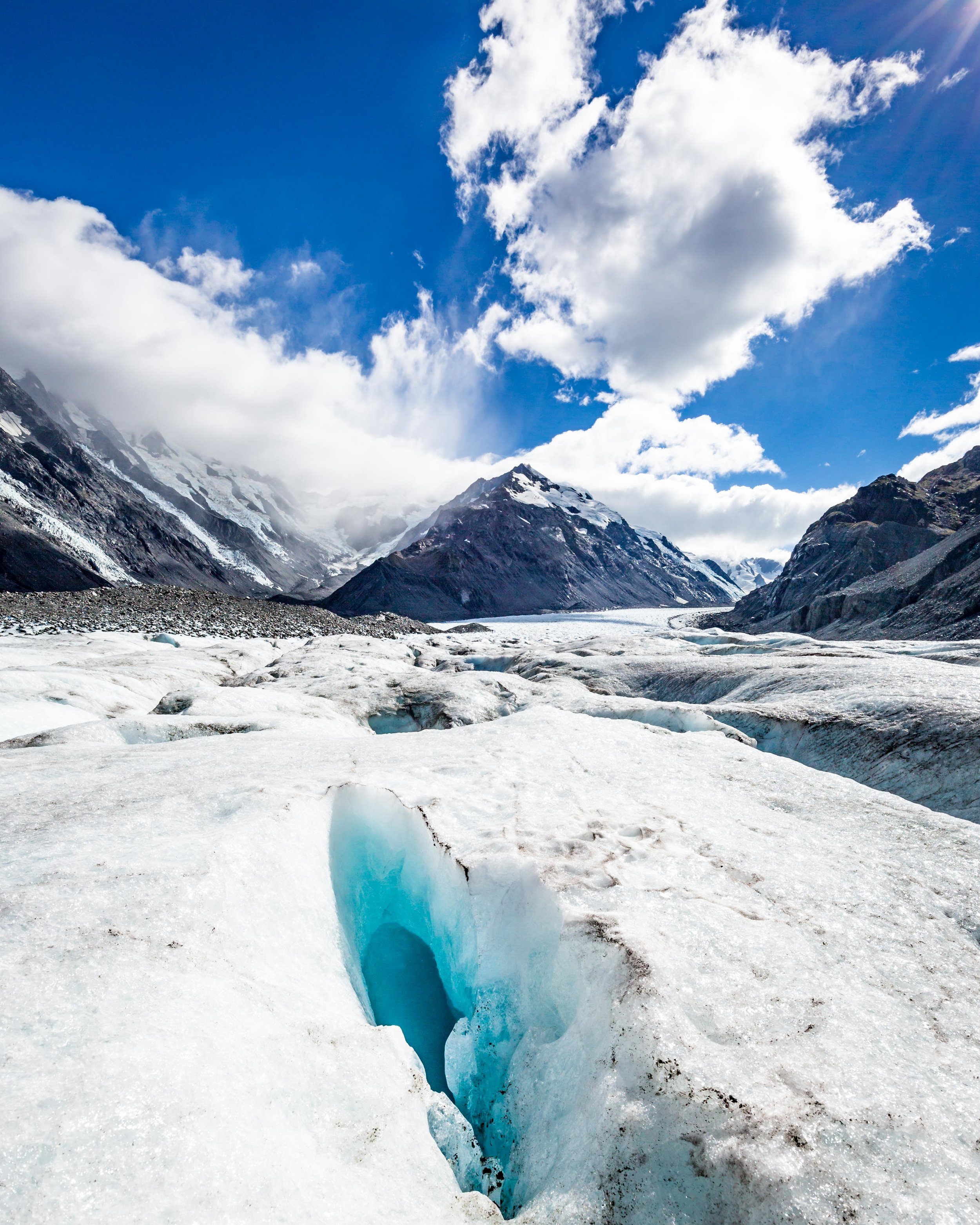 2 week New Zealand South Island Itinerary: Tasman Glacier