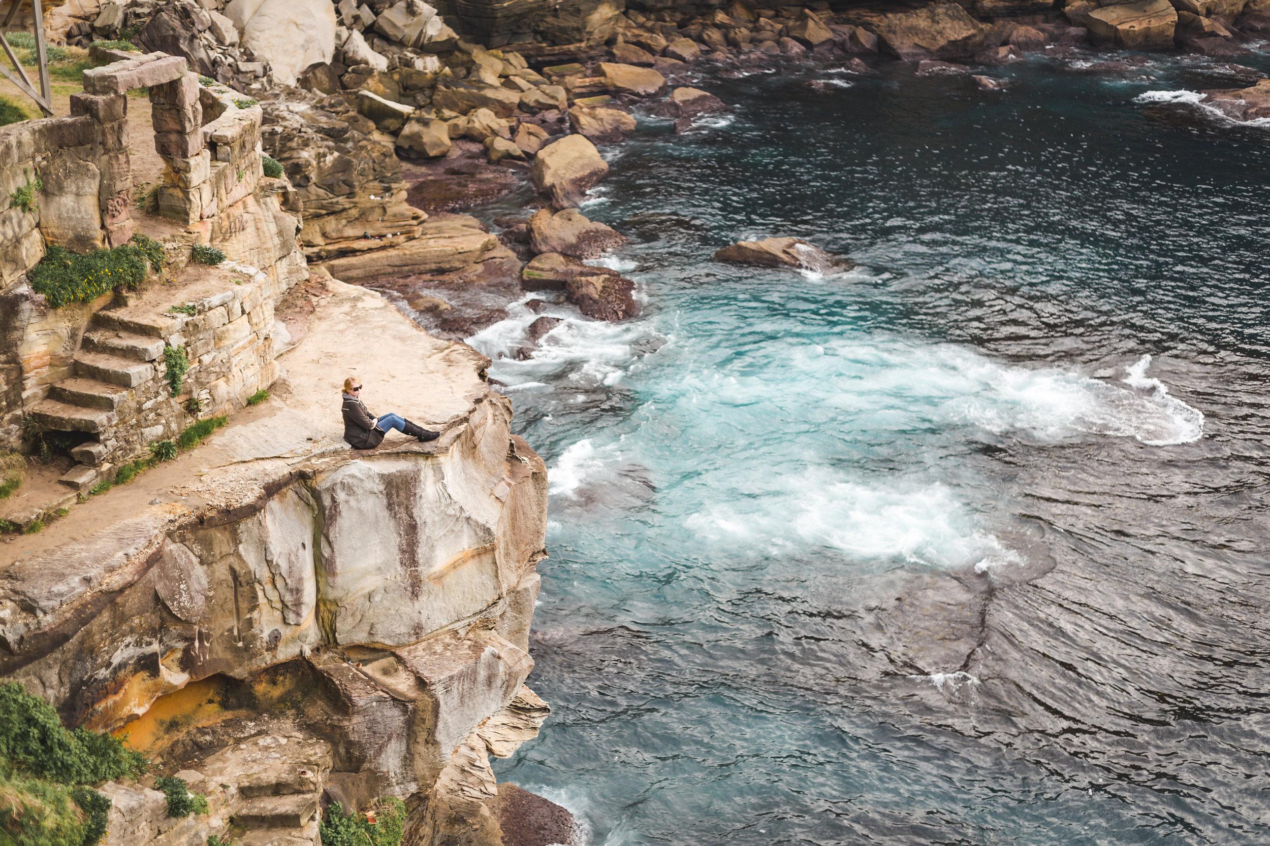 Photography spots in sydney: Diamond Bay