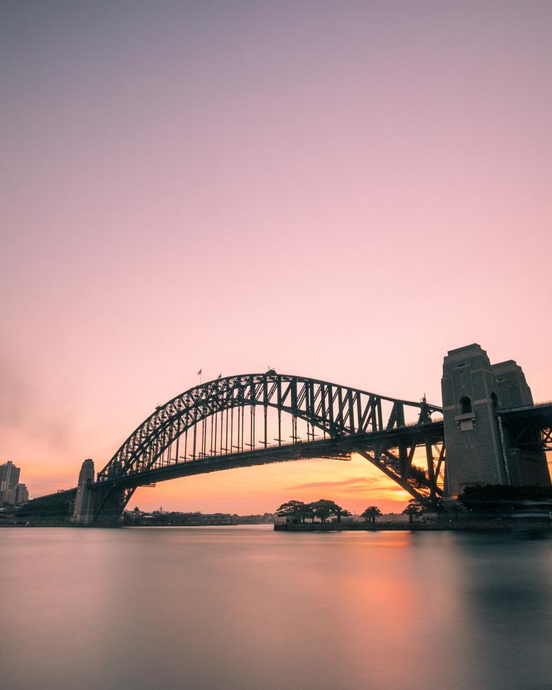 Instagram worthy landmarks Sydney: The Harbour Bridge