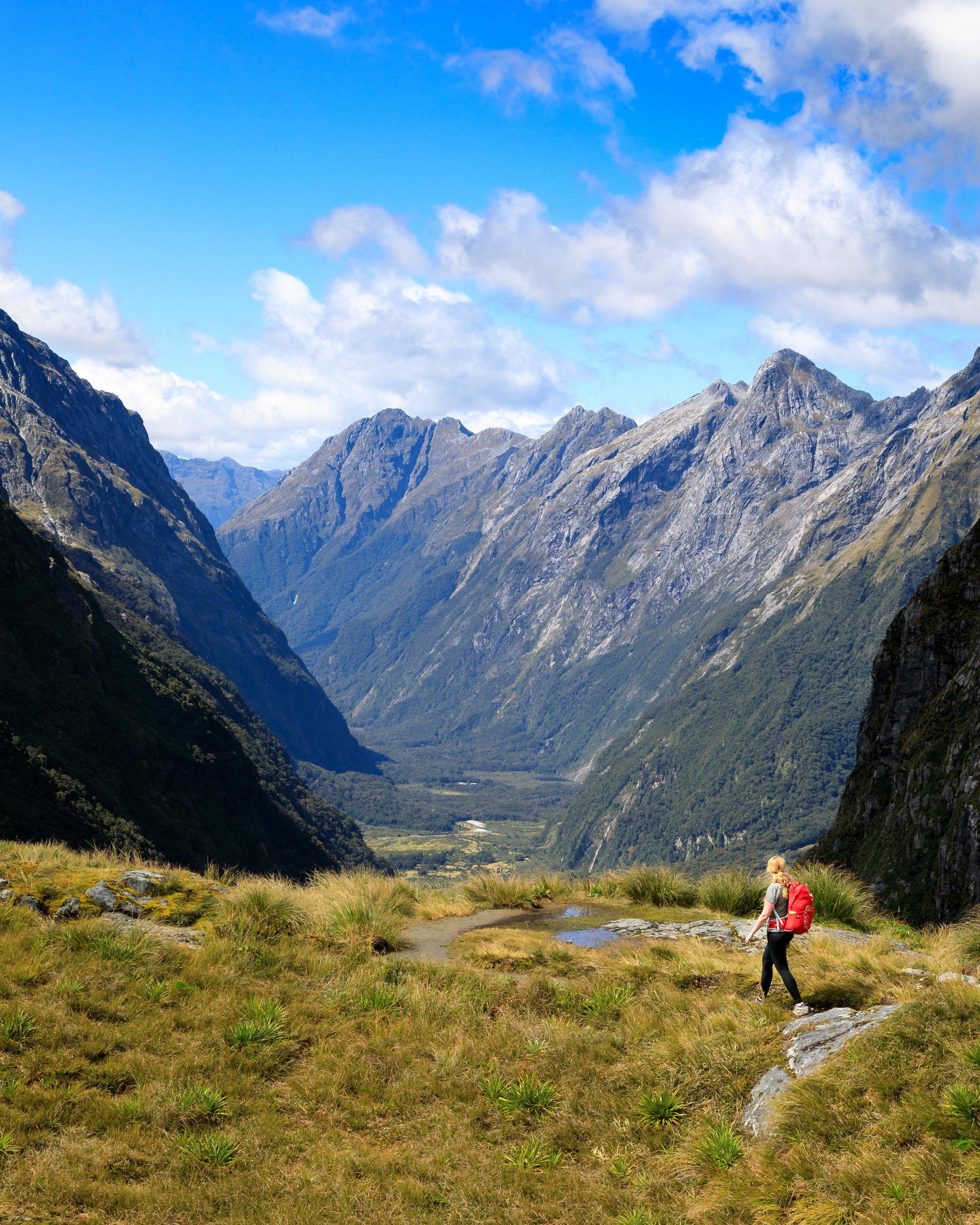 2 week New Zealand South Island Itinerary - Milford Track