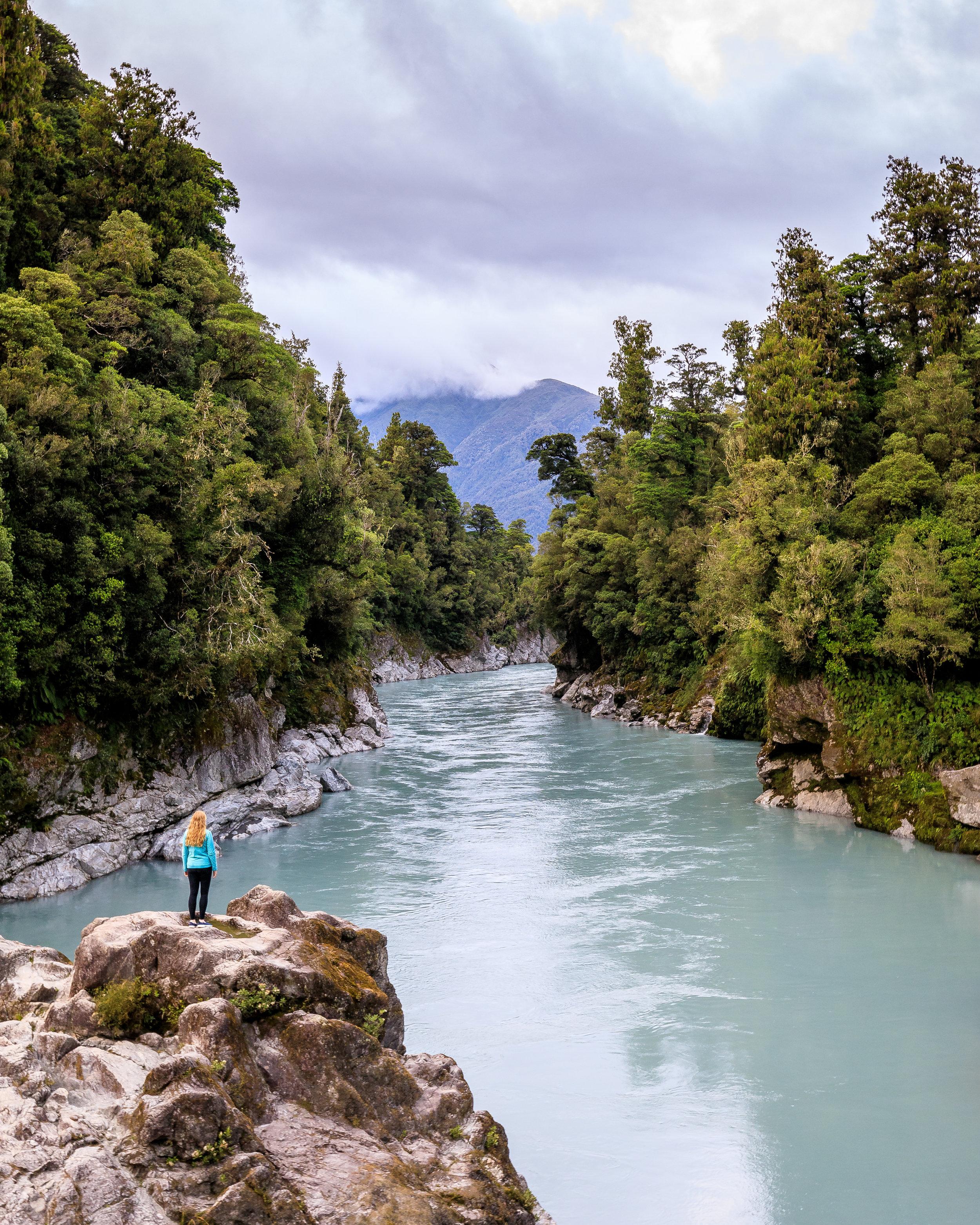 South Island Road Trip: Hokitika Gorge