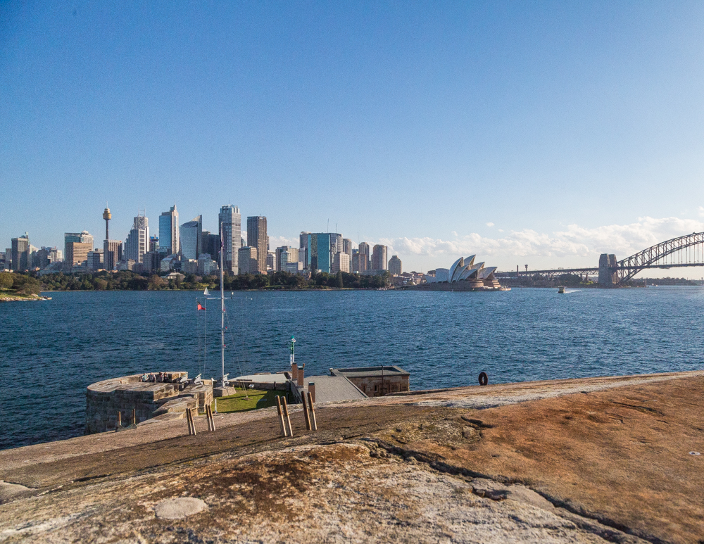 Places to visit in Sydney - Lunch on Fort Dennison
