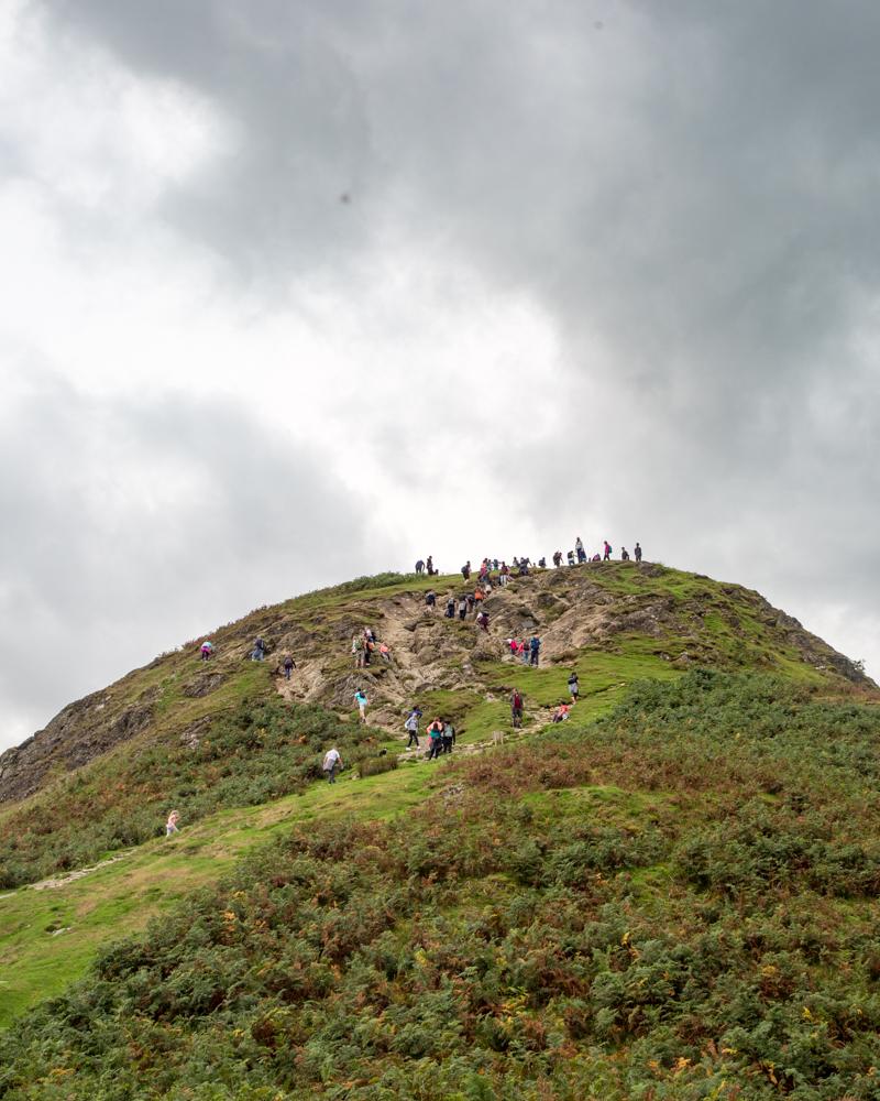 Catbells scramble - the scramble before the ridge