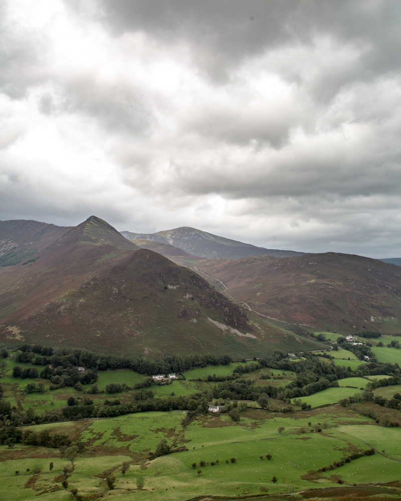 Catbells descent - The view from the top
