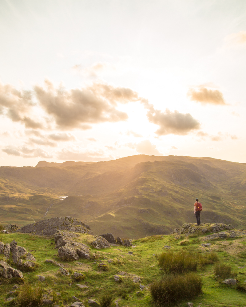 The view from the top of Helm Crag