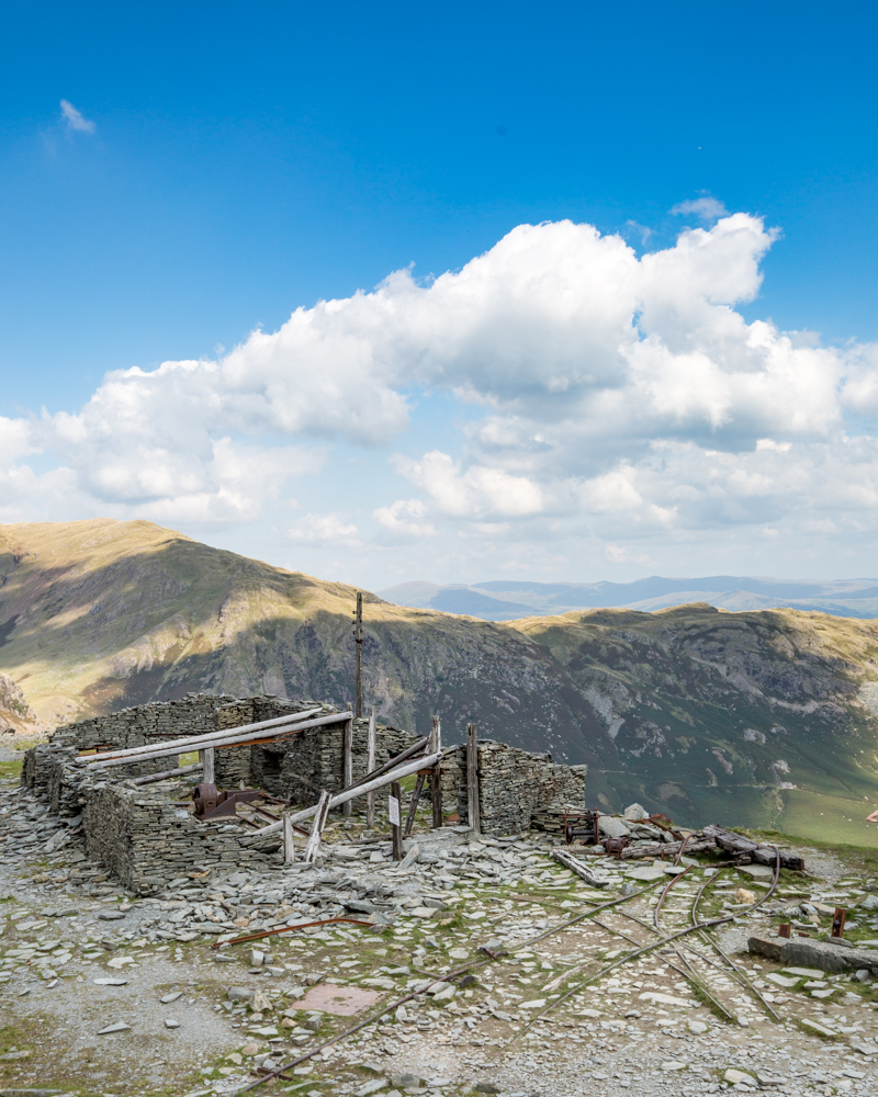 Old Man of Coniston Walk - Remnants of Mining