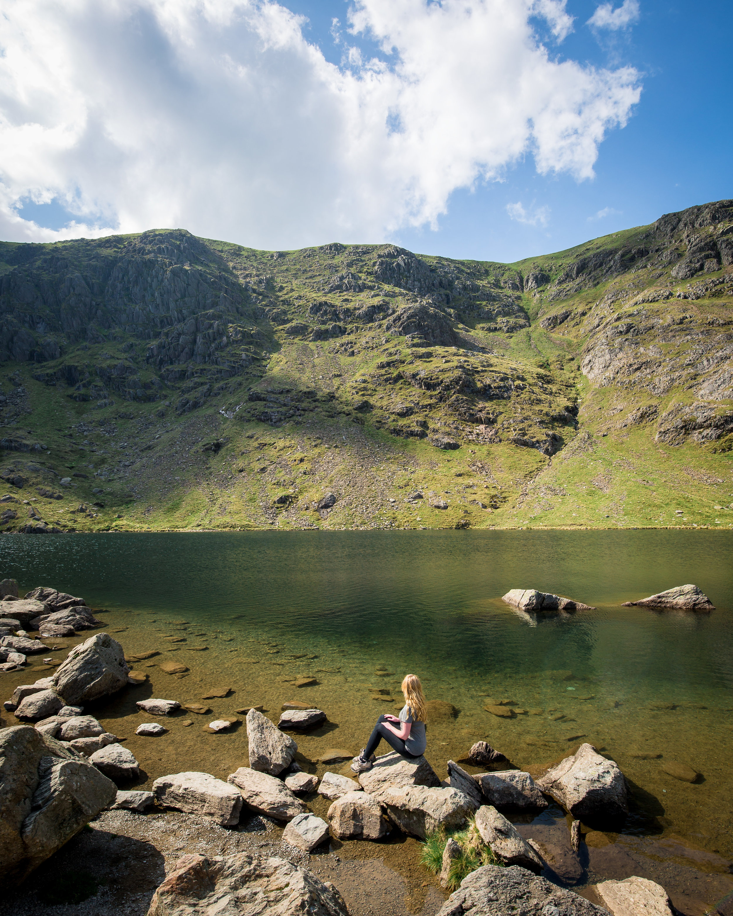 Coniston Old Man - Low Water Tarn