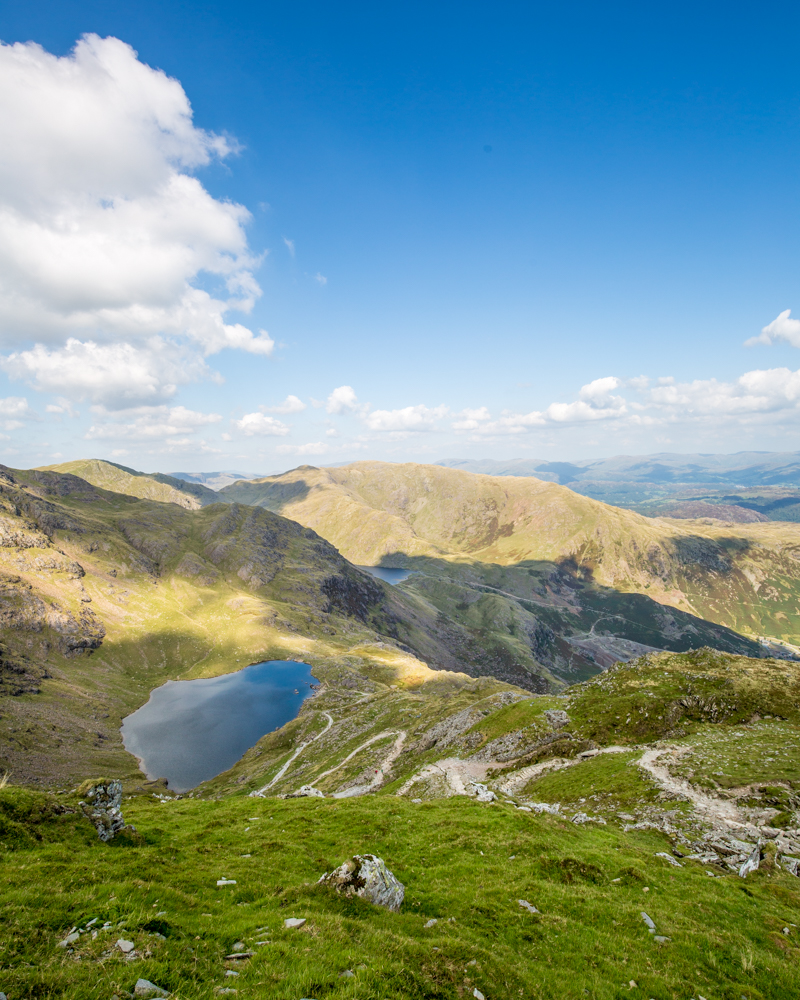 The path to the top of Old Man of Coniston