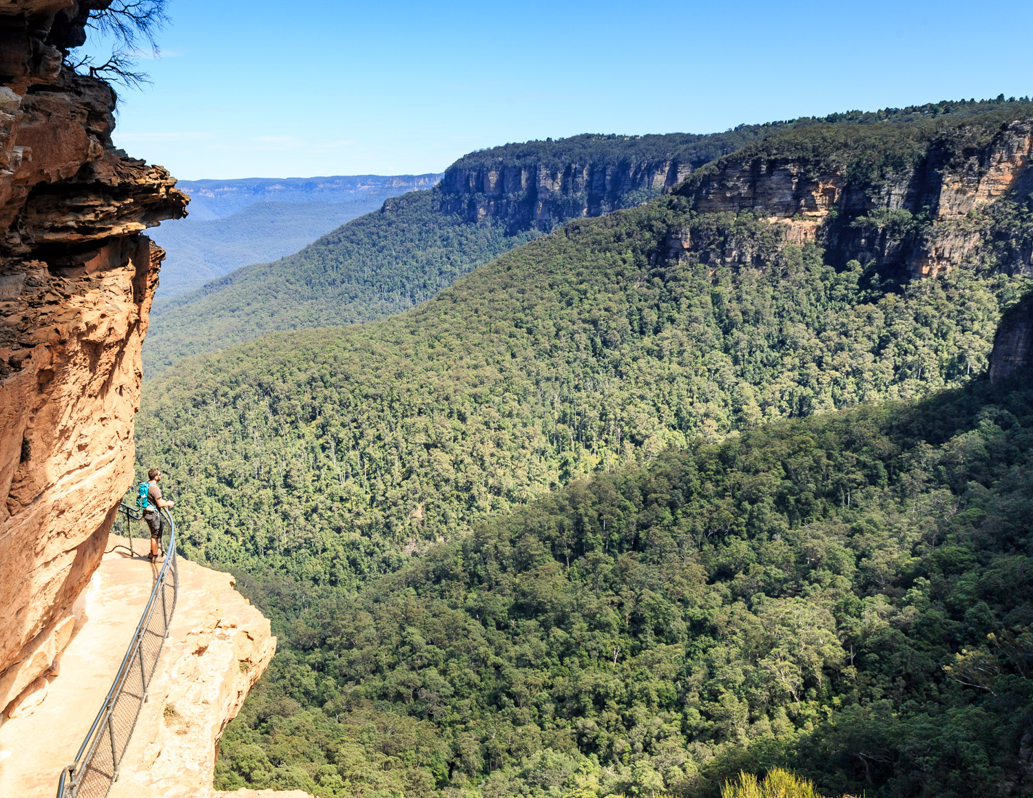Day trip to Wentworth Falls - National Pass