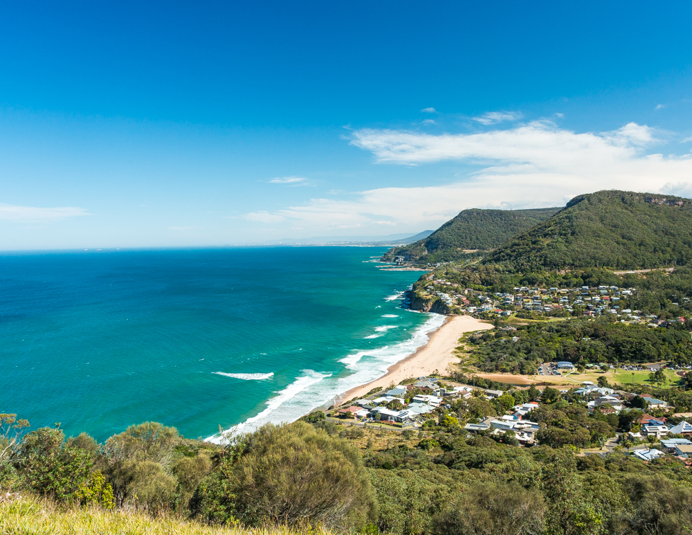 The views from Stanwell Tops