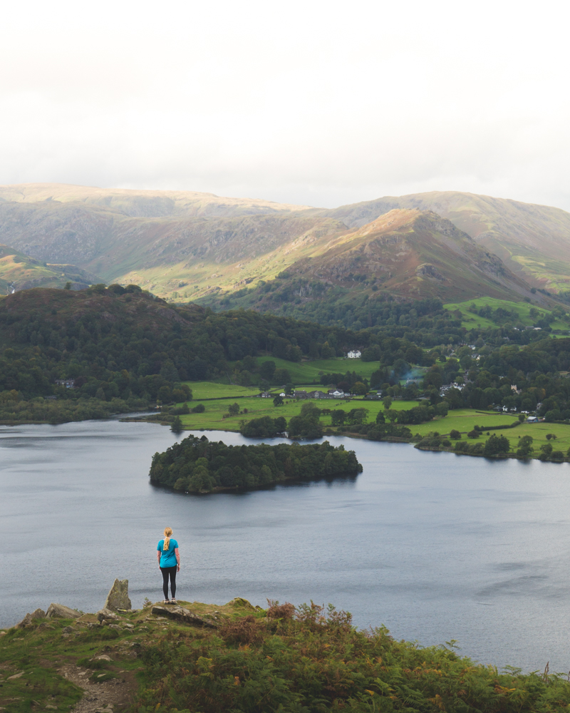 Loughrigg Fell: Difficulty & Height