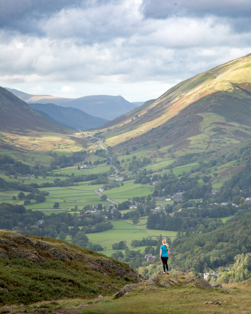 Loughrigg Fell: The Wainwright Route
