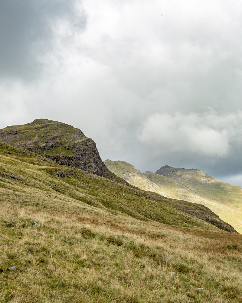 View of Crinkle Crags from Red Tarn