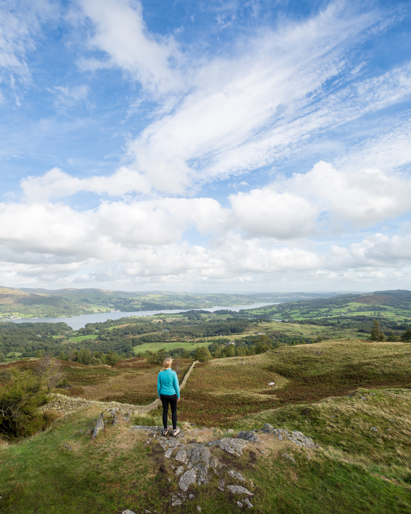 Black fell: The view from the summit