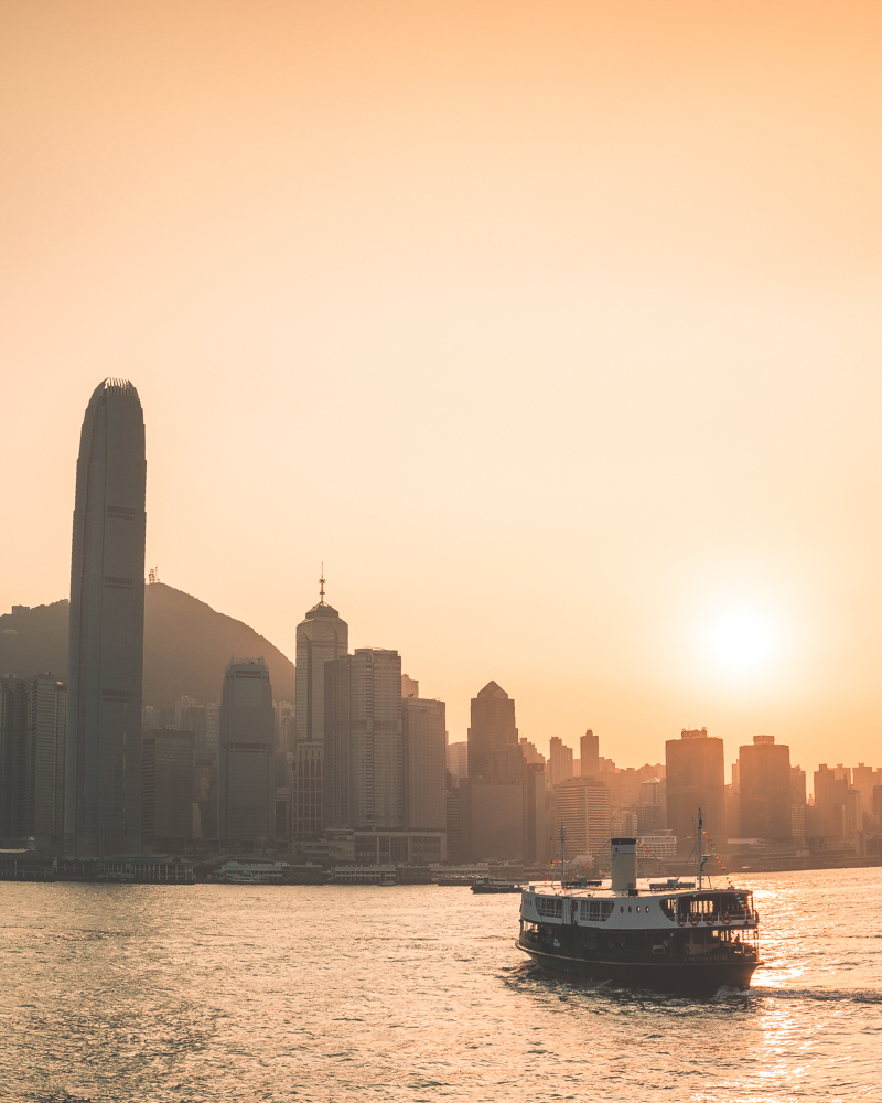Hong Kong Itinerary - Star Ferry from Kowloon
