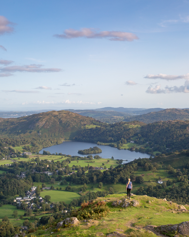 Helm Crag view of Grassmere