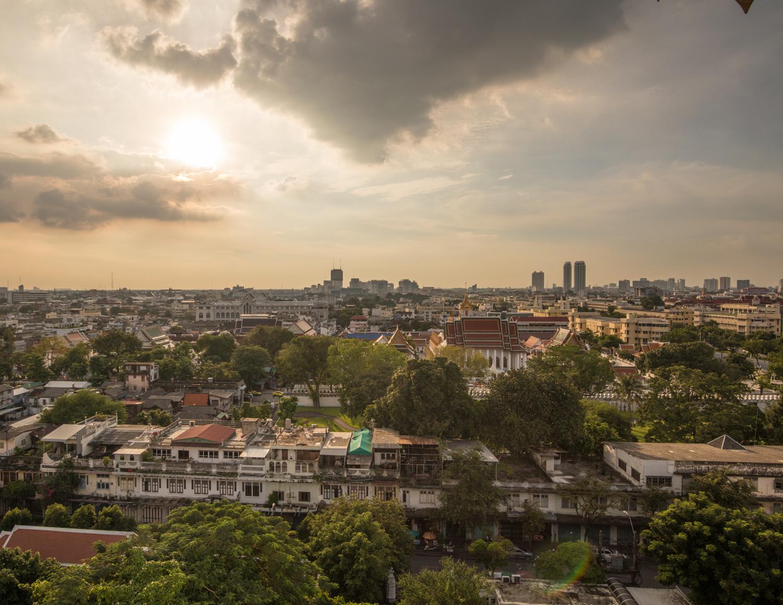 Bangkok temples - Wat Saket