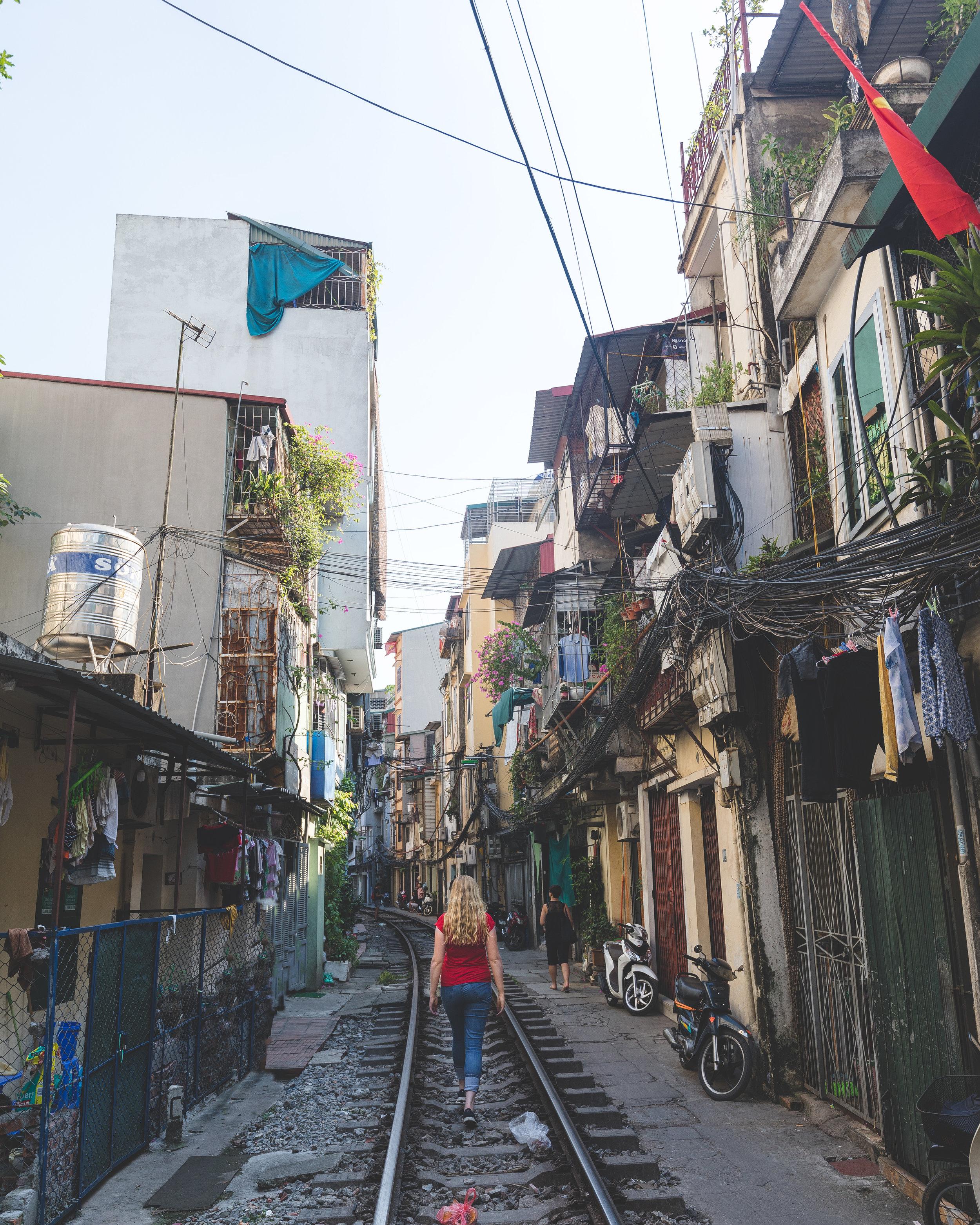 Best things to do in Hanoi - Train Street