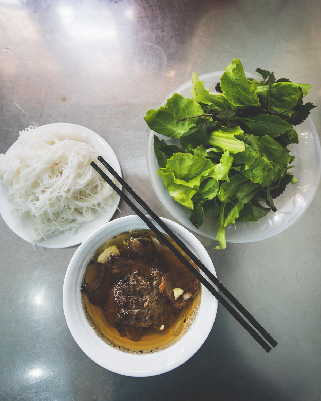 Best street food in Hanoi - Bun Cha Huong Lien