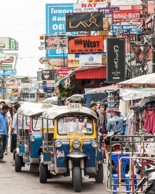3 day bangkok itinerary - Tuk-Tuk