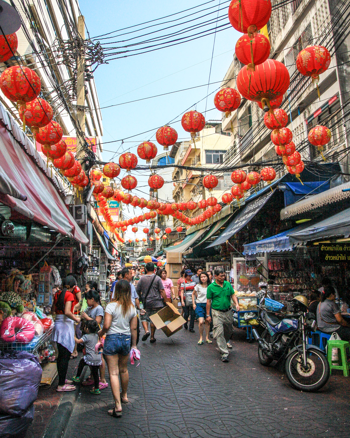3 day Bangkok Itinerary - Chinatown