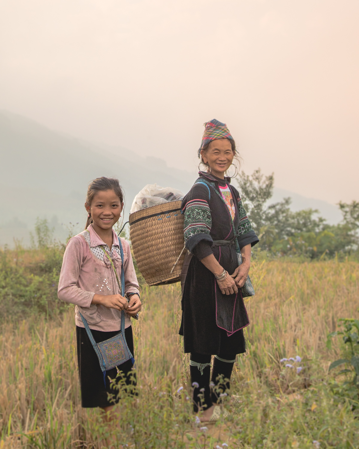 These were our guides who took us on a really enjoyable hike, making Sapa not so much a complete failure