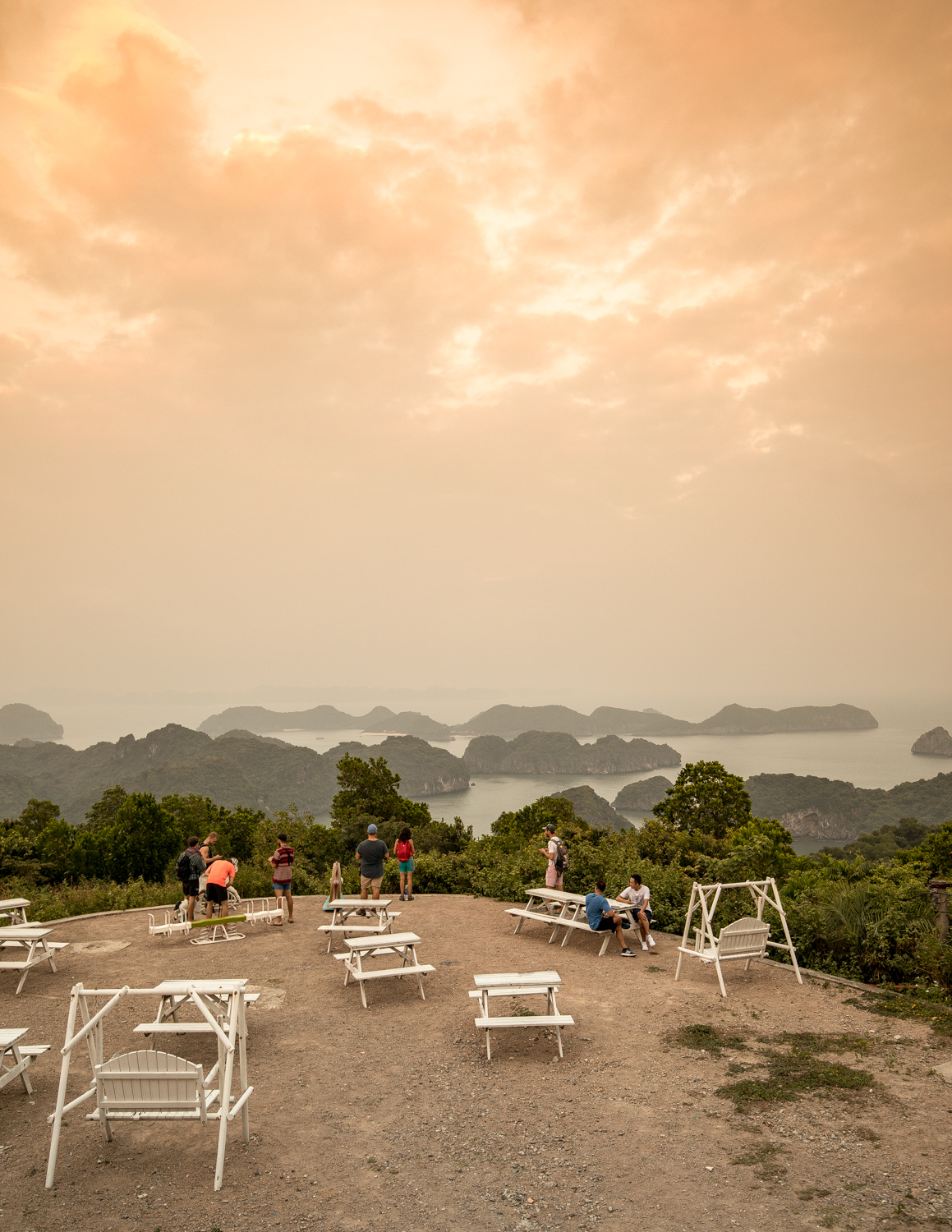 Cannon Fort, Cat Ba Island view