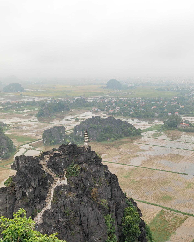 The pagoda at Mua Caves, Ninh Binh
