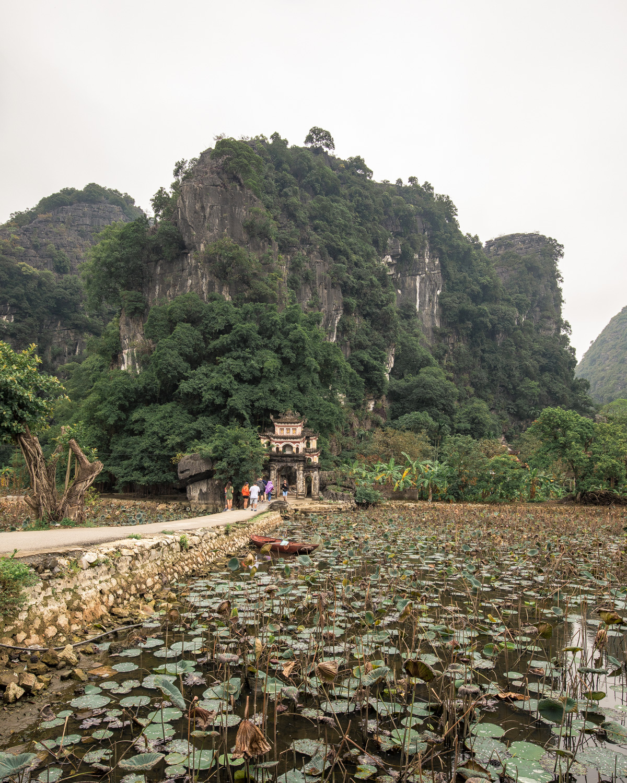 Tam Coc Bich Dong Pagoda Vietnam