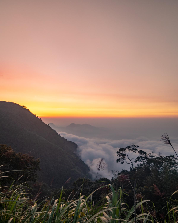 Sunset in Fenchihu