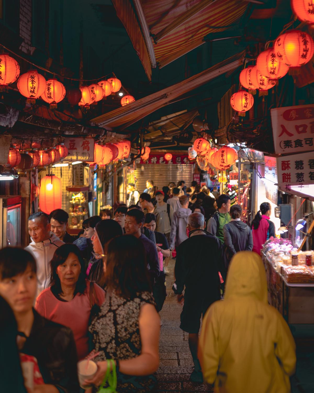 Jiufen Old Street - The crowds