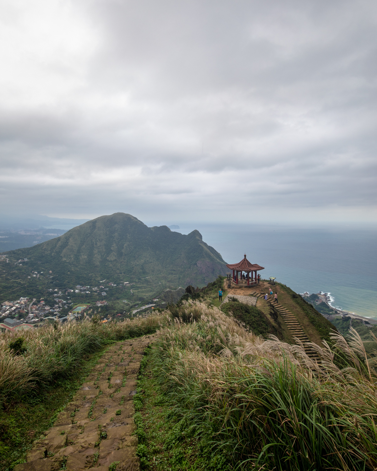 The views from Teapot Mountain in Jiufen