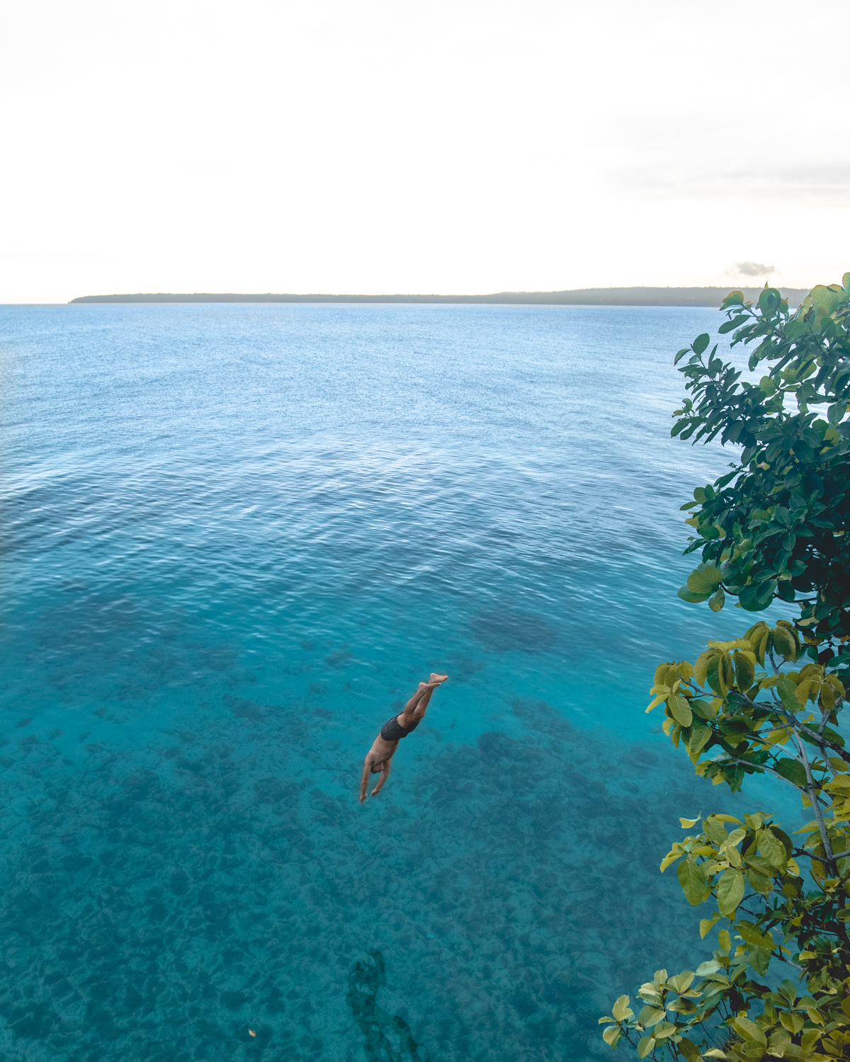 Salagdoon Beach Cliff Diving on Siquijor Island