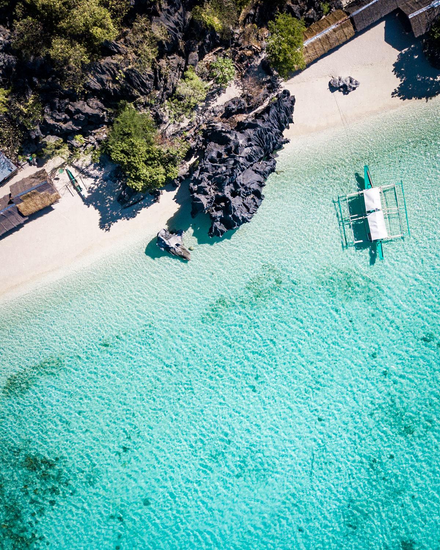 Banul Beach, Coron Island, The Philippines