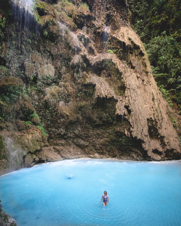 Tumalog Falls, Cebu, The Philippines